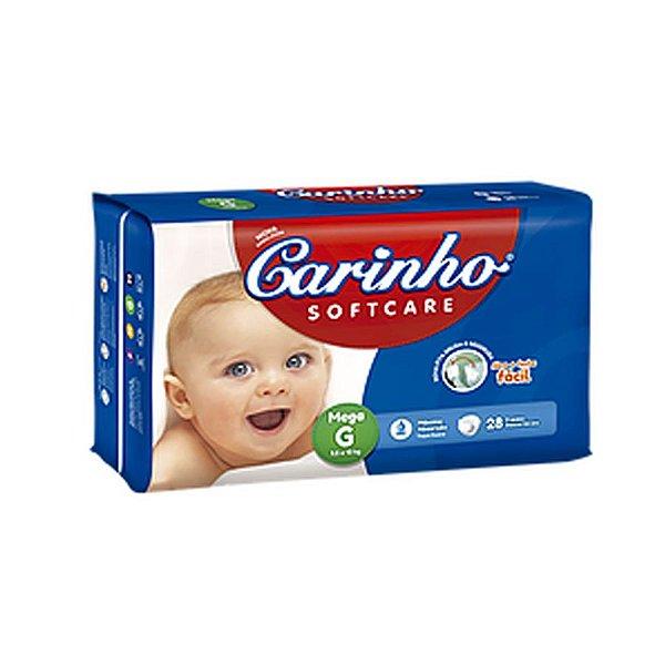 Fralda Infantil Carinho Premium Mega G 28 unidades