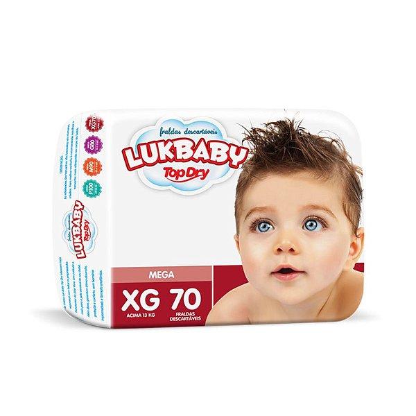 Fralda Infantil Luk Baby Jumbo XG 70 unidades