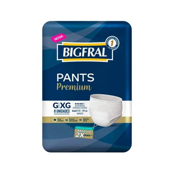 Roupa Íntima Bigfral Pants G/XG 8 Unidades