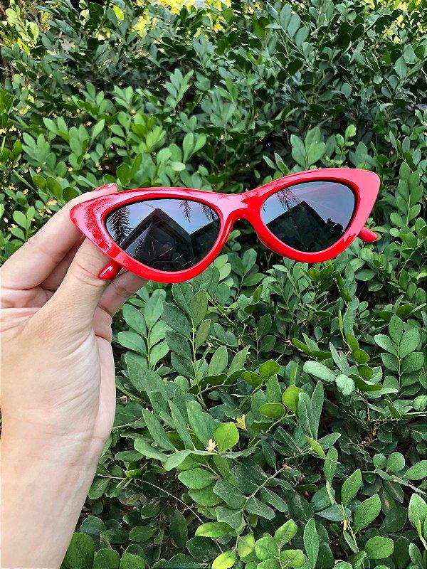 Óculos Milão vermelho