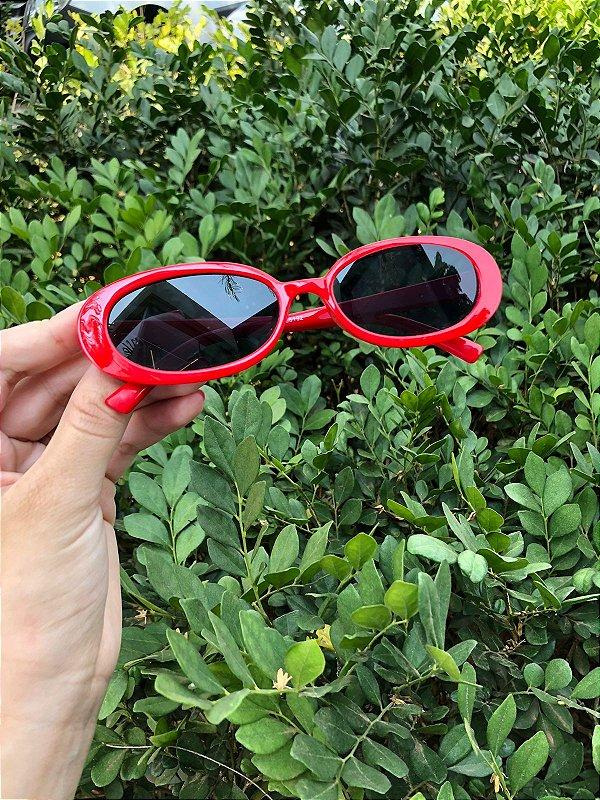 Óculos Paris vermelho