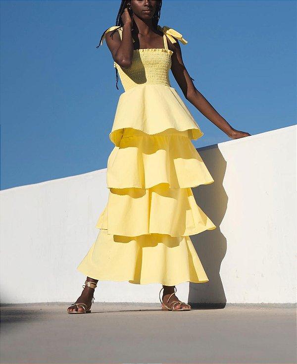 Vestido Vivi Amarelo