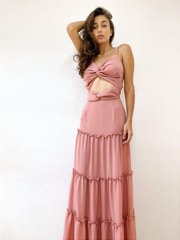 Vestido Mah rose