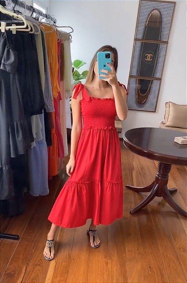 Vestido Valentina Vermelho