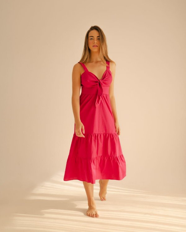 Vestido Sarah Rosa