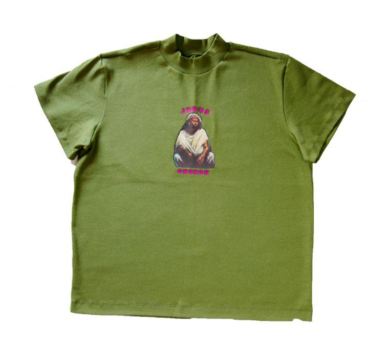 Camiseta Jesus Chorou - Musgo
