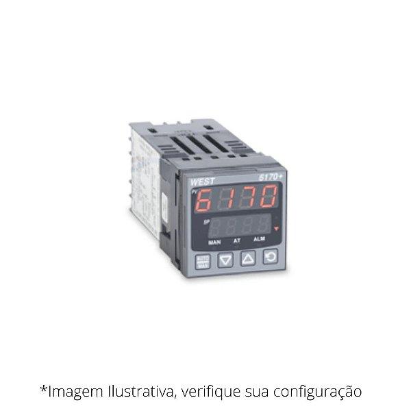 P6170 Controlador de Temperatura e Processos WEST