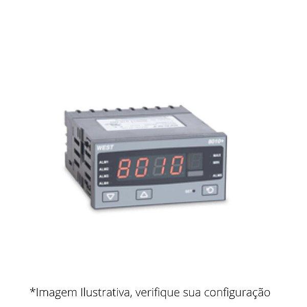 P8010+ Indicador de Temperatura e Processos WEST