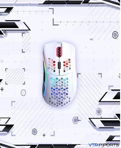 (Sem Previsão) Mouse Glorious Model D- Branco