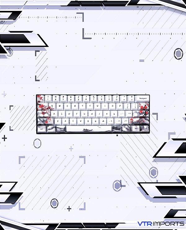 (PRONTA ENTREGA) Keycaps Japanese Flowers (60% Keyboard)