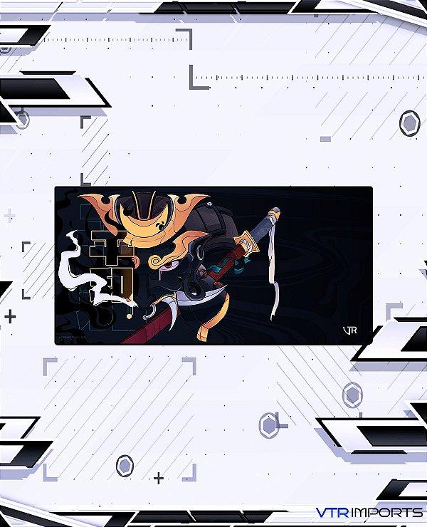 Mousepad Inked Gaming Collab VTR Imports - God Samurai LARGE (90x40cm)