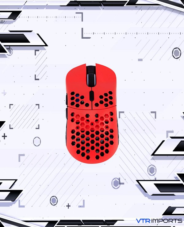Mouse HK Gaming Mira S Ultra Lightweight Honeycomb Shell Wired RGB Gaming Mouse - Up to 12 000 cpi   6 Buttons - 61g Only (Mira-S, Monza)