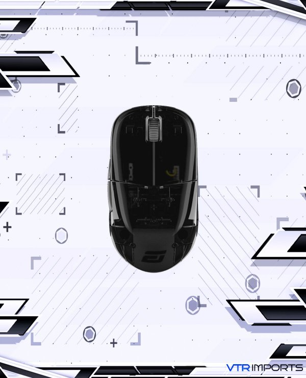 Mouse ENDGAME GEAR XM1r Gaming Mouse - PAW3370 Sensor - 50 to 19,000 CPI - 5 Buttons - GM8.0 Switches - Dark Reflex (Glossy)
