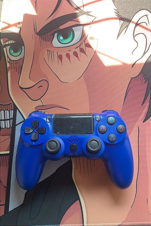 Controle PS4 - Blue (Acompanha caixa e cabo carregador)
