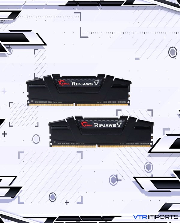 Memória RAM RipJaws V Series 3200mhz CL14 2x8GB - Totalizando 16GB