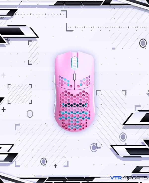 (Sem Previsão) Mouse Glorious Model O Pink (Limited Edition)