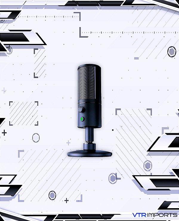 Microfone Razer Seiren X (Black and White)