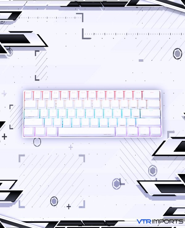Teclado Anne Pro 2 60% Keyboard RGB