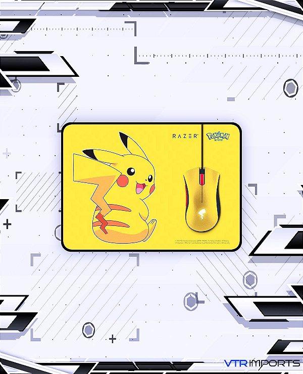 Mouse Razer Pokemon + MousePad - Edição Limitada