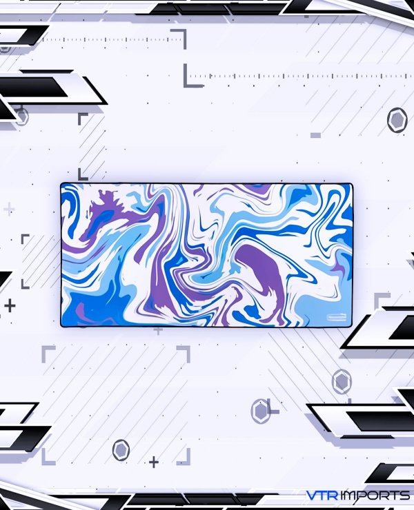 (SEM PREVISÃO, marque a opção AVISE-ME para ser notificado quando chegar um novo estoque) Mousepad Company LARGE 91x46cm - Liquid 08