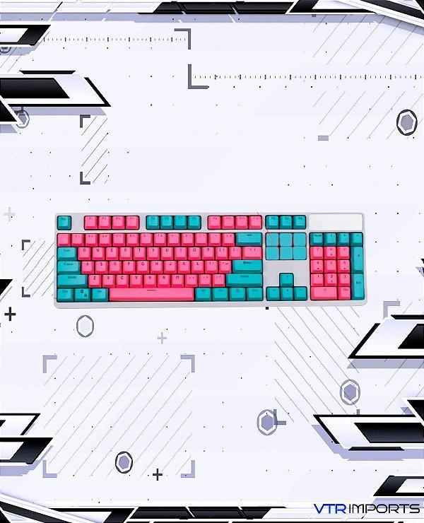 Keycaps Miami PBT 104 Teclas (Teclado Full-Size)