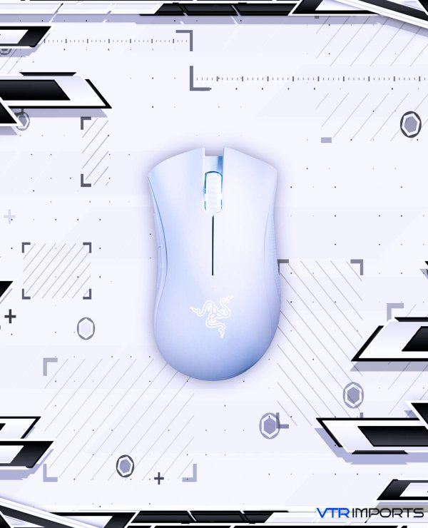 Mouse Razer Deathadder Essential White 3500DPI