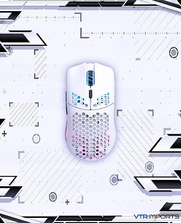 Mouse Glorious Model O Wireless Branco