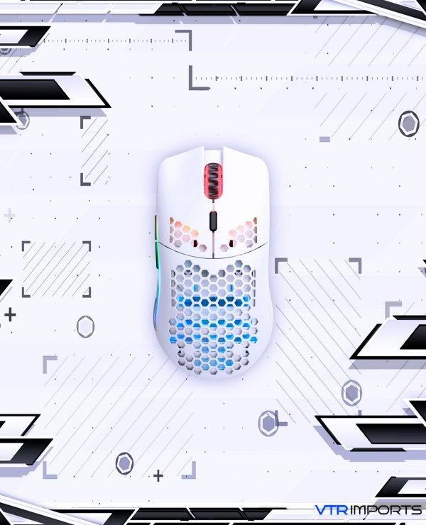 Mouse Glorious Model O Branco