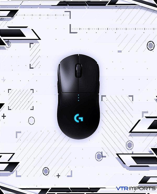 Mouse Gamer Sem Fio Logitech G PRO Wireless Lightspeed, RGB, Lightsync