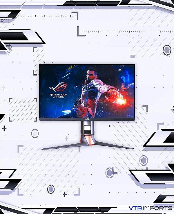 "Monitor ASUS ROG Swift 360Hz PG259QN 24.5"" HDR Gaming, 1080P Full HD, Fast IPS, 1ms, G-SYNC, ULMB, Eye Care, HDMI DisplayPort USB, Ergonomic Design, VESA Wall Mountable, HDR10, World's First 360Hz"