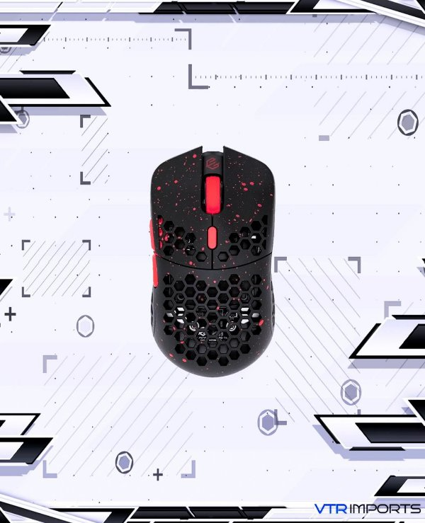 (PRONTA ENTREGA) Mouse G-Wolves Hati S HTS Stardust 49g Ultra Lightweight- 3389 Performance Sensor -