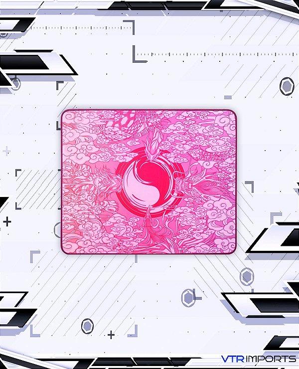 Mousepad Tiger Esports Grandmaster SE Pink (48x40cm) - Lançamento