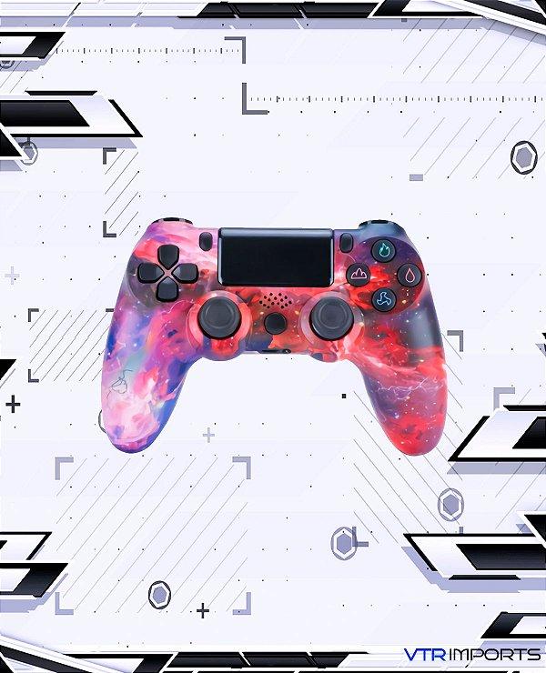 Controle PS4 - Marte (Acompanha caixa e cabo carregador)