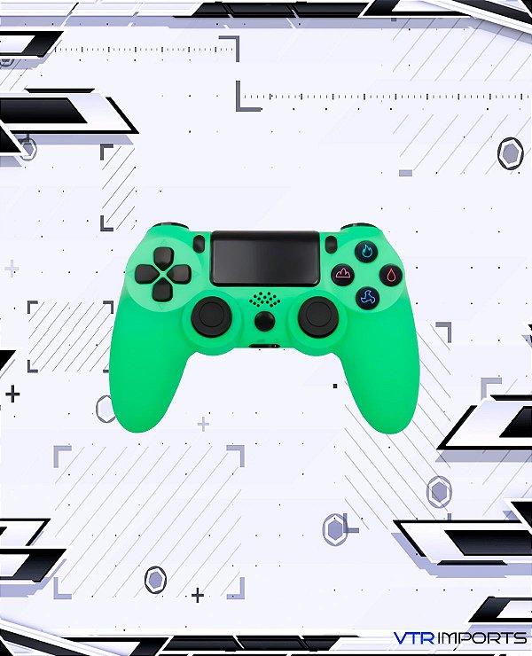 Controle PS4 - Lime Green (Acompanha caixa e cabo carregador)