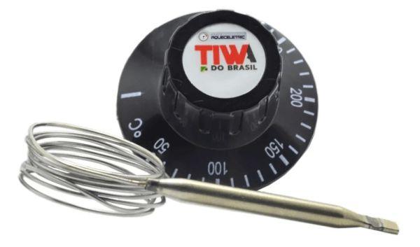 Termostato TIWA 50-300ºC s/ Bucha 30 Amperes