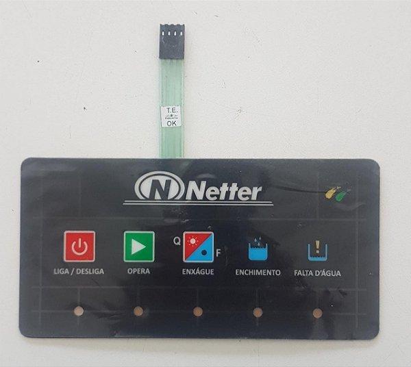 Teclado SMD para Lavadoras de Louças Netter NT-100 e NT-210 (Enxague (Quente/Frio)