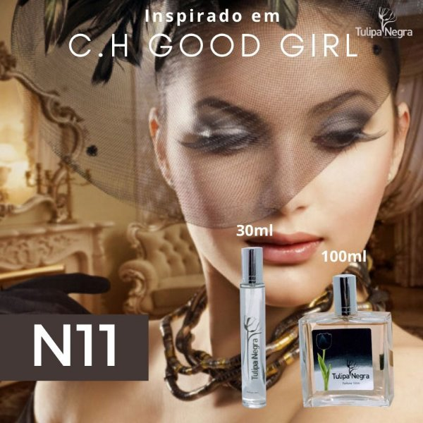 Perfume Tulipa Negra N 11 - Good Girl