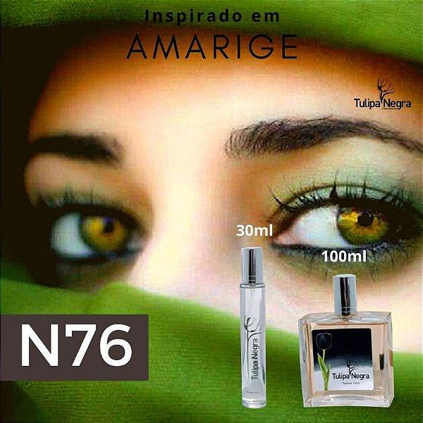Perfume Tulipa Negra N 76 - Amarige