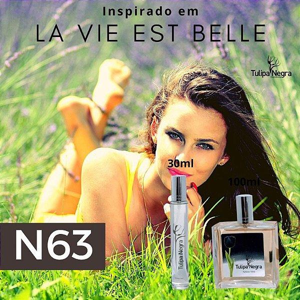 Perfume Tulipa Negra N 63 - La Vie est Belle