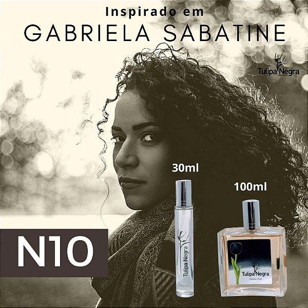 Perfume Tulipa Negra N 10 - Gabriela Sabatine