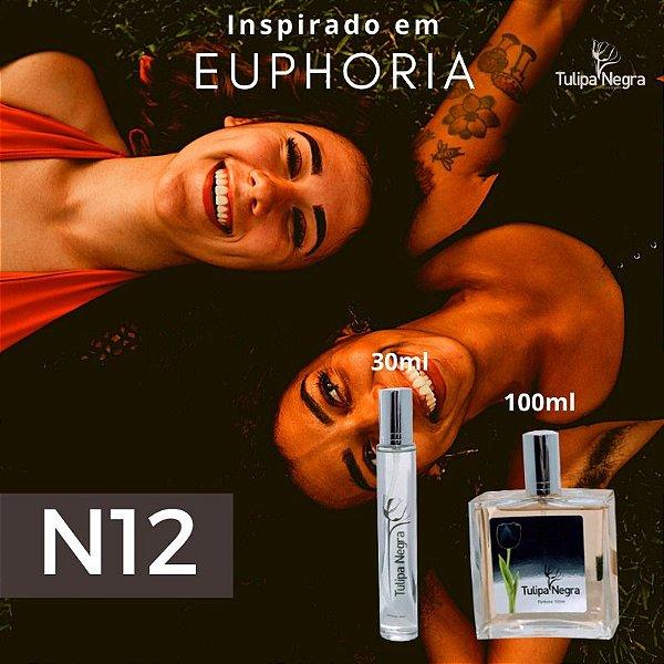 Perfume Tulipa Negra N 12 - Euphoria Feminino