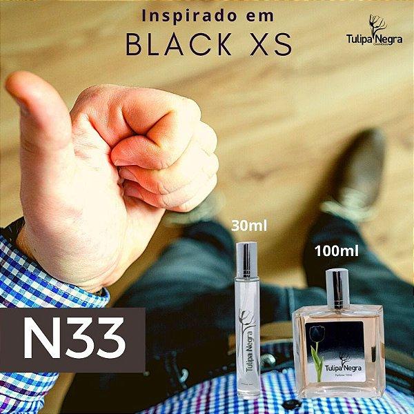 Perfume Tulipa Negra N 33 - Black Xs Marculino