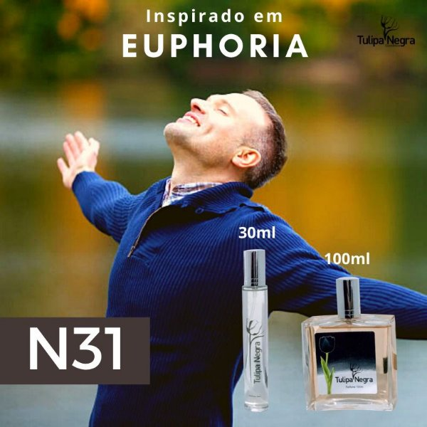 Perfume Tulipa Negra N 31 - Euphoria Masculino