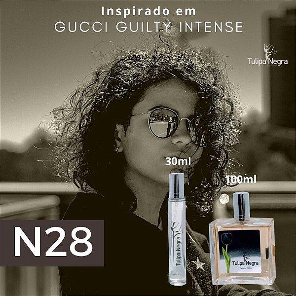Perfume Tulipa Negra N 28 - Gucci Guilty Intense