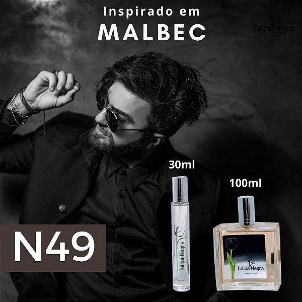 Perfume Tulipa Negra N 49 - Malbec