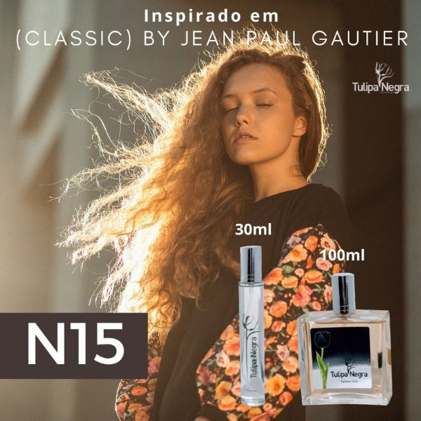 Perfume Tulipa Negra N 15 - Classic By Jean Paul Gautier