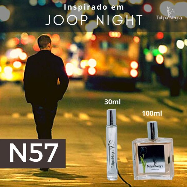 Perfume Tulipa Negra N 57 - Joop Night
