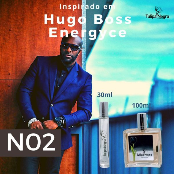 Perfume Tulipa Negra N 02 - Hugo Boss Energyce