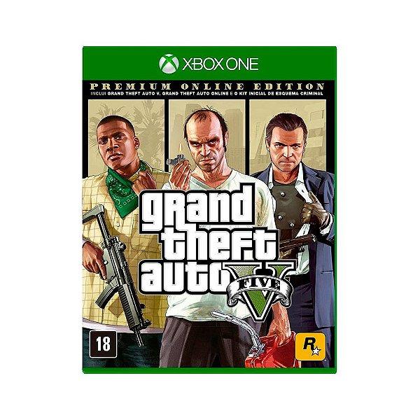 Grand Theft Auto 5 (GTA 5) - Premium Edtion (Xbox One)