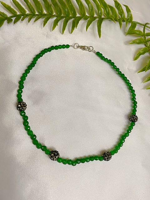 Chocker verde Jade